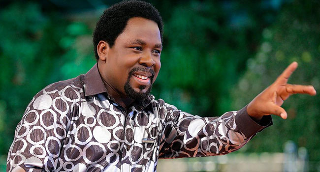 YouTube Shuts TB Joshua's Channel, Facebook Removes Some Content