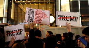 Anti-Trump Protests Break Out Across American Cities