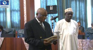 Acting CJN Swears In New Supreme Court Justices