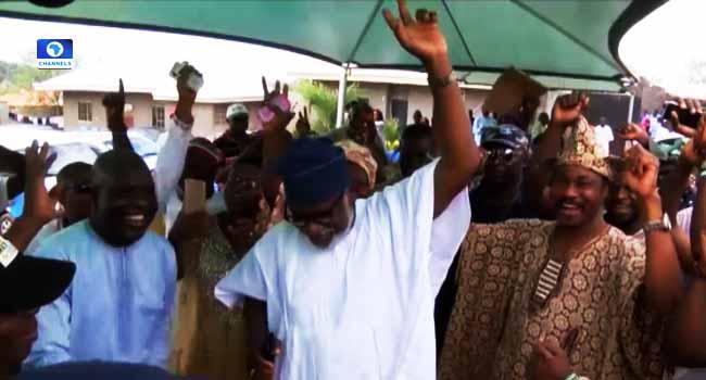 INEC Declares APC's Rotimi Akeredolu Winner Of Ondo Governorship Election