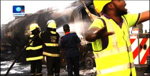 Tanker accident, Lagos-Ibadan expressway, gridlock