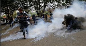 Police Disperse Protesting Kenyan Doctors With Tear Gas