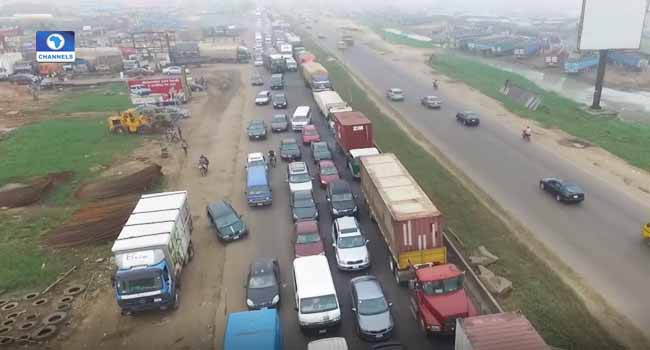 Lagos-Ibadan expressway, grid-lock