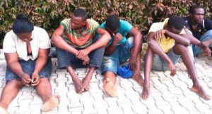 police, paraded suspects, ondo
