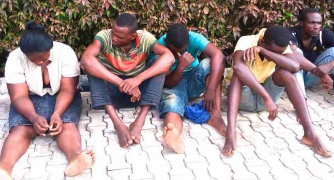 Police Parade Nine Crime Suspects Apprehended In Ondo