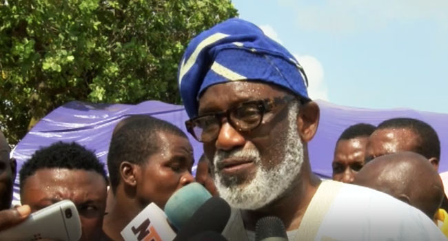 Ondo LG Dissolution: Akeredolu Withdraws Case From Court Of Appeal