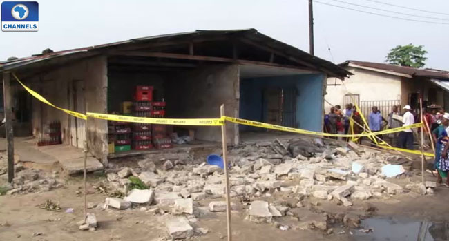 Akwa Ibom Market Collapse: Police Make U-turn, Say No Life Lost