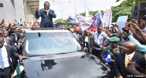 ben ayade dances to supreme court victory
