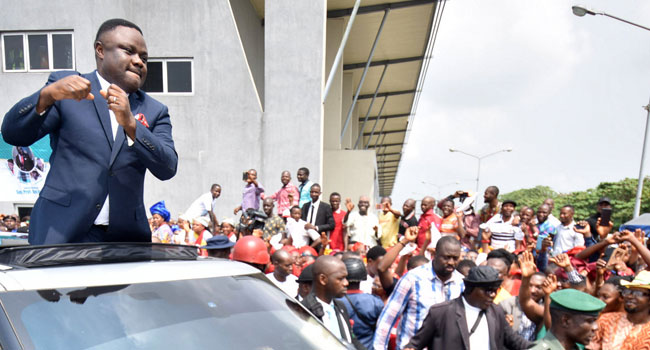 Ayade In Victory Dance After Supreme Court Judgement