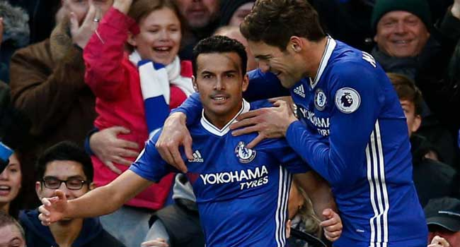 Chelsea Beat Bournemouth 3-0 To Set Club Record
