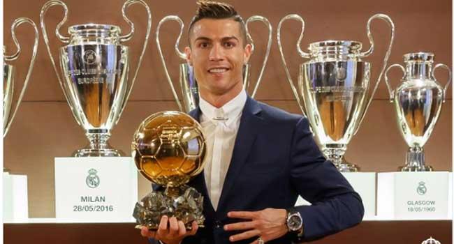 Cristiano Ronaldo Wins Fourth Ballon d'Or
