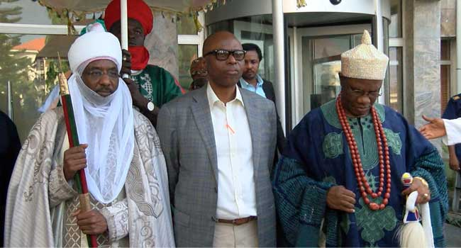 Mimiko Hosts Emir Of Kano, Preaches National Unity