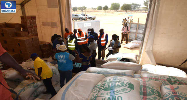 FG Starts Delivery Of 40,000 Tonnes Of Food To North East