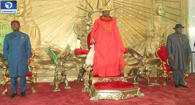 Jonathan, Okowa Take Message Of Peace To Niger Delta Region
