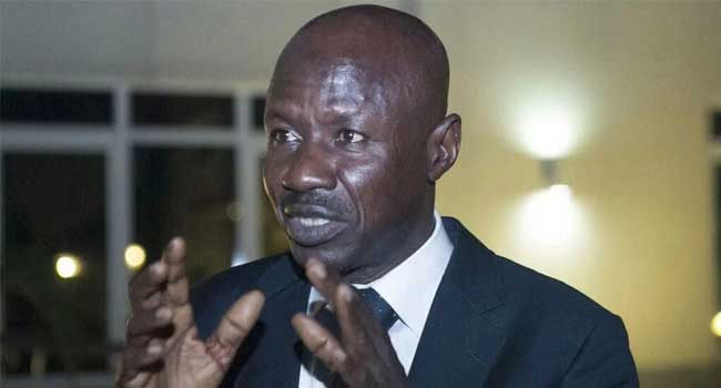 Magu will EFCC chairman as long as I remain in office