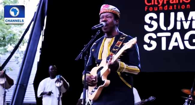 King Sunny Ade Joins Hard Rock Hall Of Fame