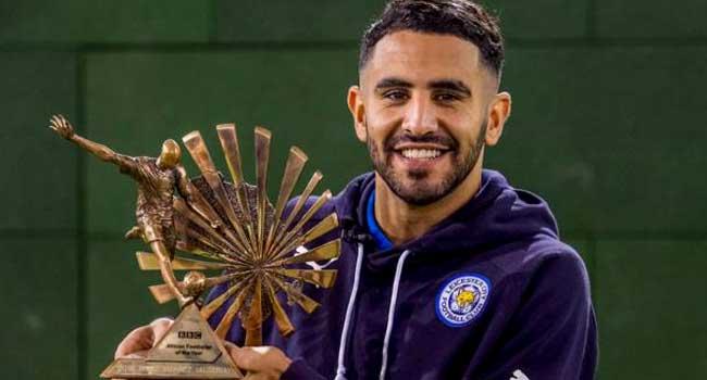 Mahrez Grabs BBC African Footballer of the Year