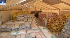 food relief material to Kodomun in adamawa