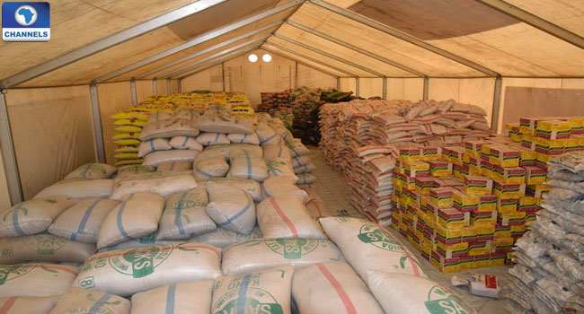 Nigerian Refugees In Cameroon Get Food Aid From NEMA