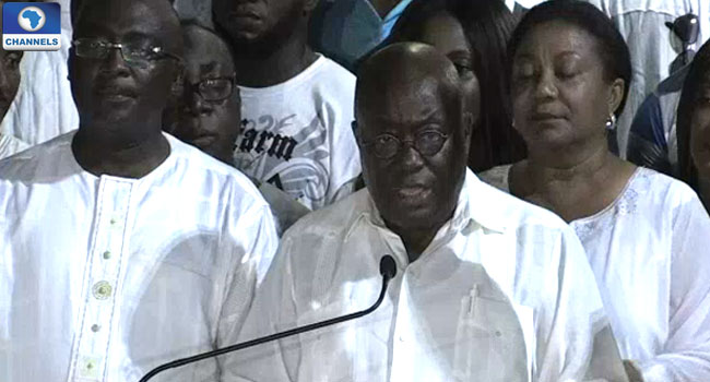 Ghana's Opposition Candidate Akufo-Addo Wins Presidential Election