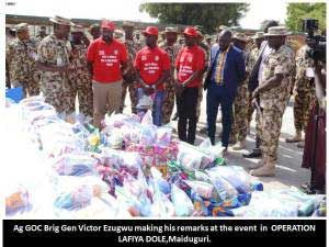 Pupils Contribute Pocket Money To Honour Nigerian Troops