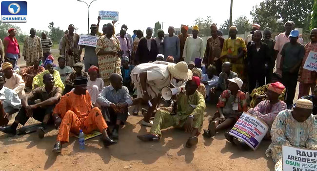 Imo Pensioners Protest Non-payment Of Arrears
