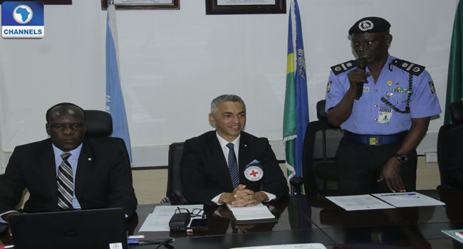 Red Cross Trains SARS Personnel On International Standards Of Law Enforcement