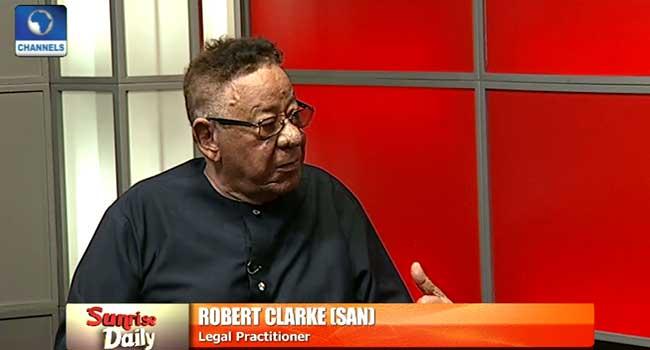 FG Should Be Blamed For EFCC Appointment Saga – Robert Clarke