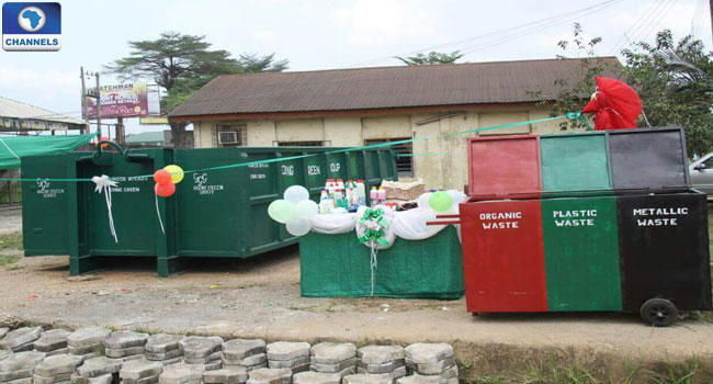 Abia Polytechnic Makes Waste Management Bins For State Govt.