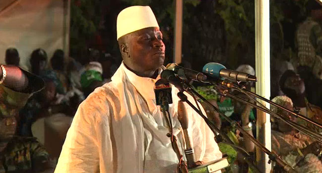 "African Union Says Gambia President's Rejection Of Poll Results Is ""Null And Void"""