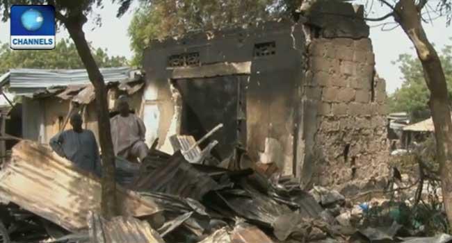 Fire Wreaks Havoc In Yobe Market