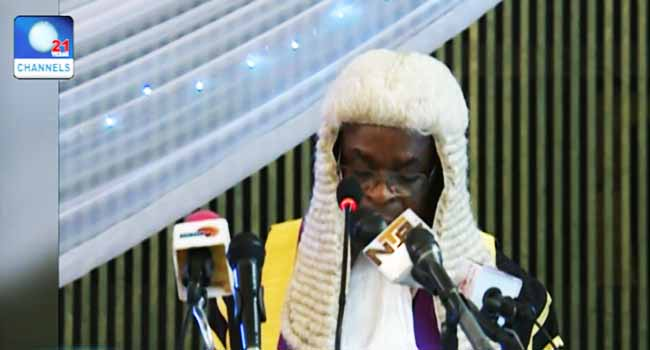 Acting CJN Tasks New Lawyers On Integrity And Competence