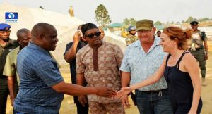 Wike Satisfied with Progress Of Port Harcourt Pleasure Park