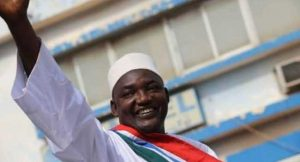 Adama Barrow Sworn-In As Gambian President