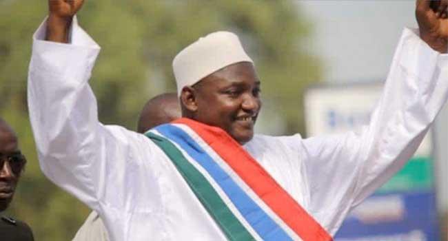 Adama Barrow Sworn In As President In Banjul