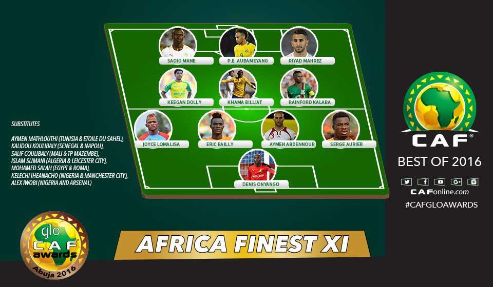 CAF Awards: Mahrez Is Africa's Best Footballer In 2016