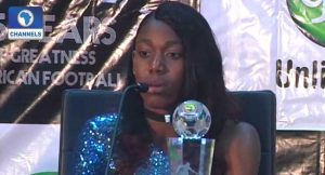 Oshoala Reacts To Winning Africa's Best Female Player Award