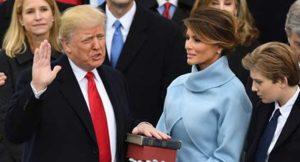 Donald Trump Sworn In As 45th U.S. President
