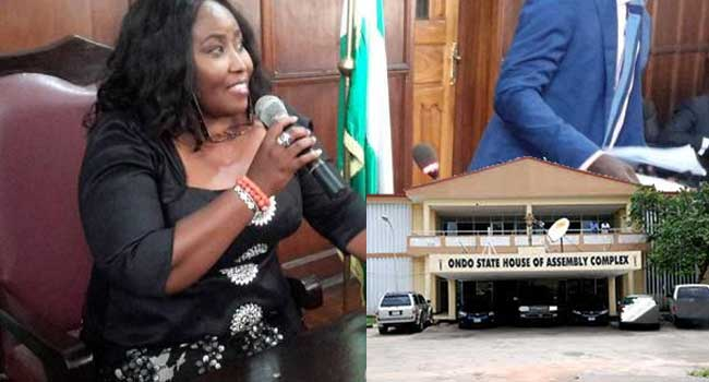 Suspended Ondo Speaker Insists She Is Still In Charge