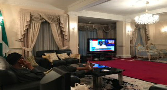 Buhari Commends Nigerian Media, Names Channels TV As Favourite