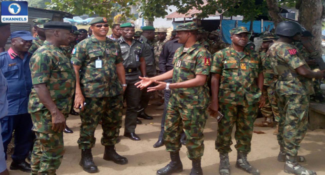 Military Performs Operation Safety Check In Niger Delta