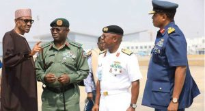 Buhari Meets With Service Chiefs Before Leaving On Vacation