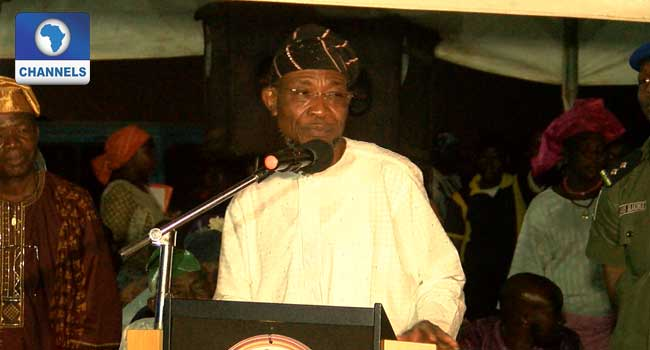 Osun Internally Displaced Pensioners Are Ingrates – Aregbesola