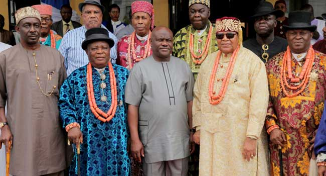 Rivers Monarchs Urge Buhari To Restore Wike's Security Aides