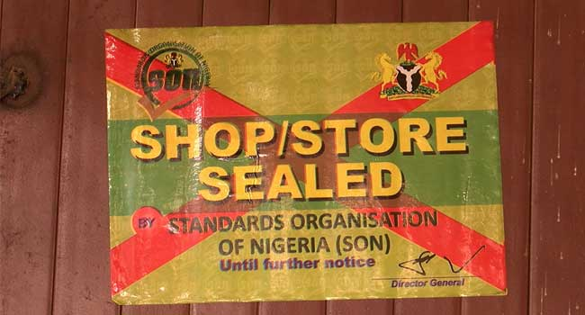 S.O.N Seals Off Mobile Phone Shops In Abuja