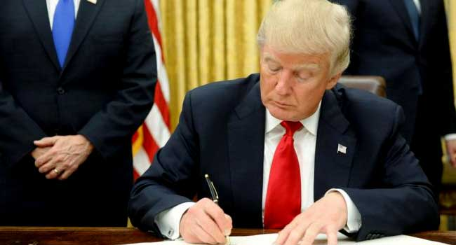 President Trump Signs Executive Order Targeting Obamacare