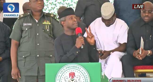 Niger Delta Should Have Special Development Status – VP Osinbajo