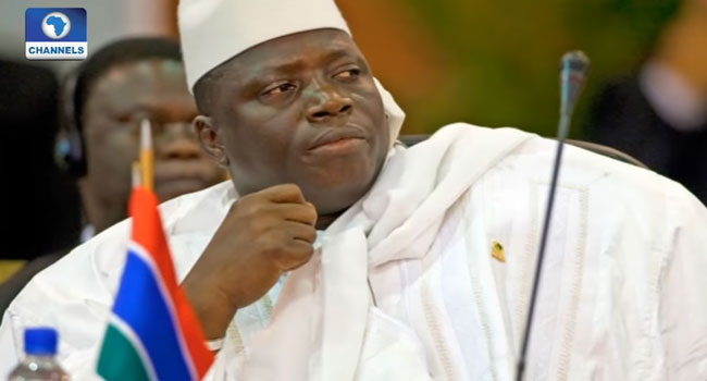 Gambian Govt Condemns Ex-President Jammeh's Planned Return