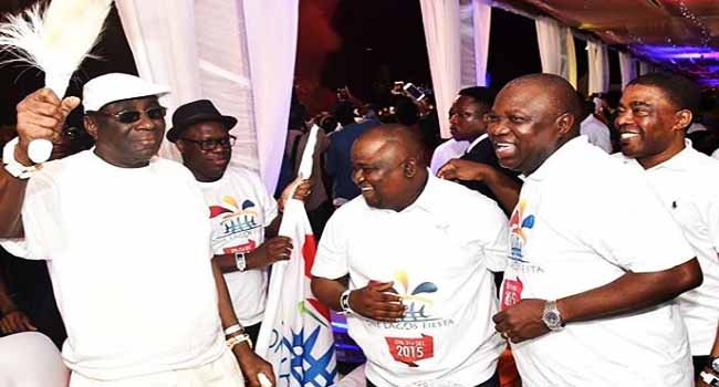 'One Lagos Fiesta 2017' Cross-over Lights Up City