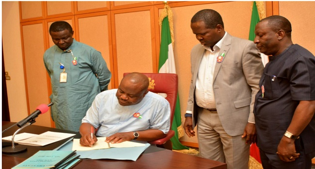 2017 Budget: Wike pledges Accelerated Development